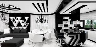 architektura wnętrz salon kuchnia