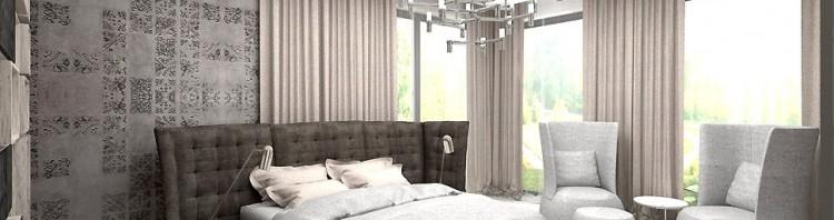 projekt wnętrz sypialnia