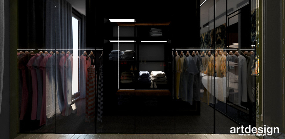 nowoczesny design garderoba