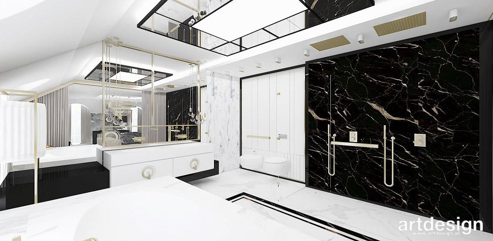 elegancka łazienka wnętrze