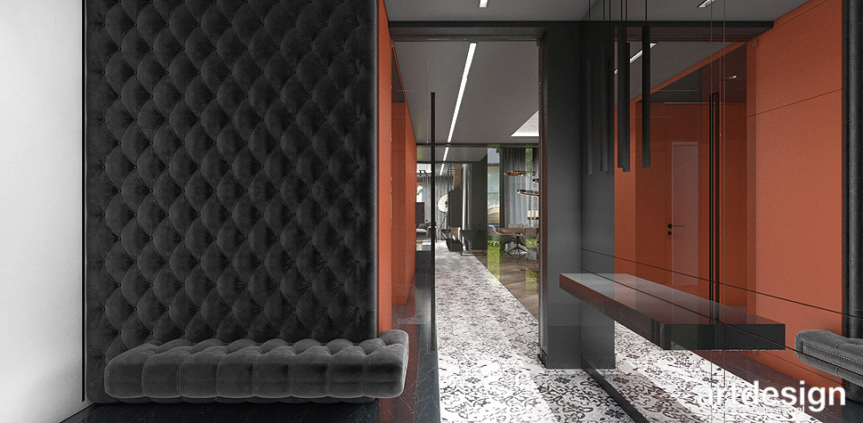 wnętrze domu projektant
