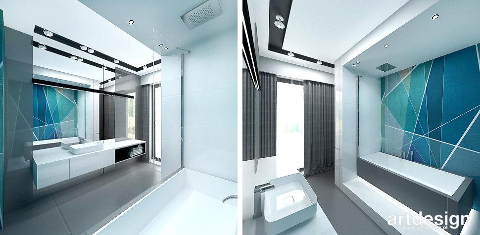 nowoczesne wnętrze łazienka