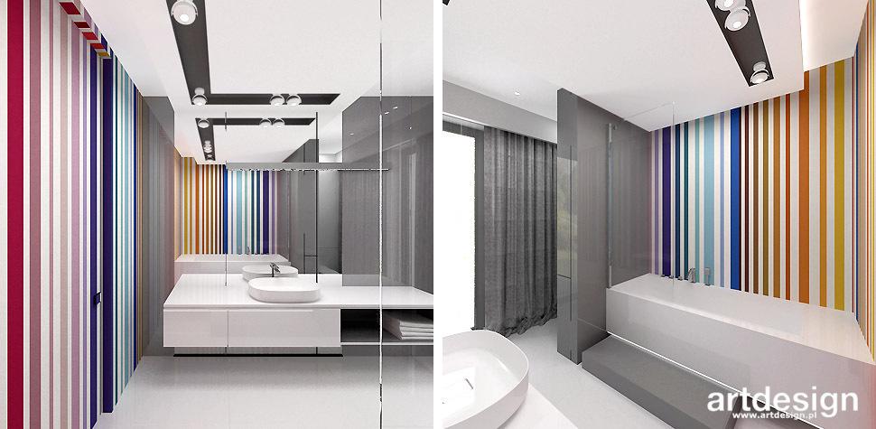 kolorowa łazienka inspiracje
