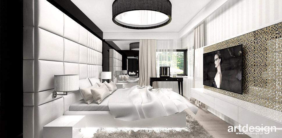 sypialnia luksusowe wnętrze