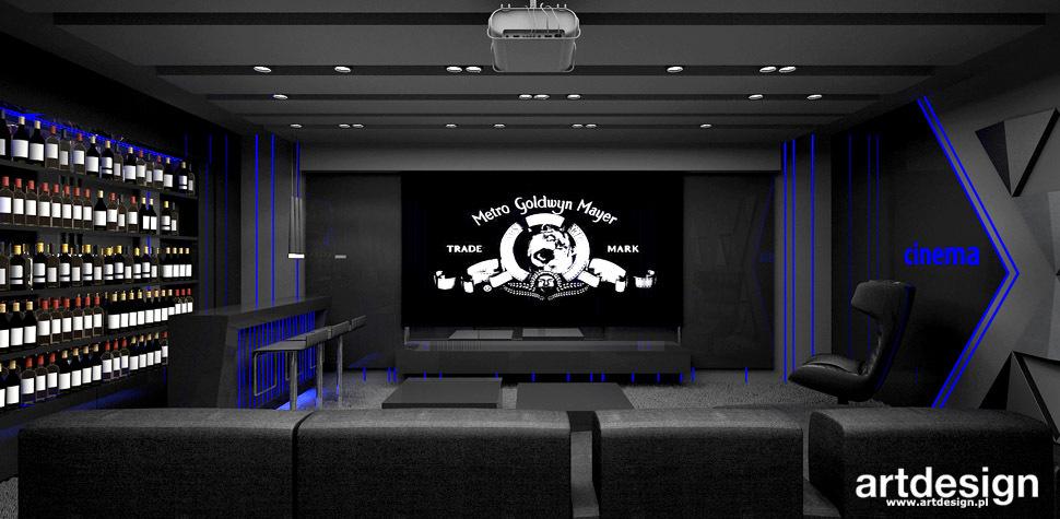kino domowe aranżacja wnętrza