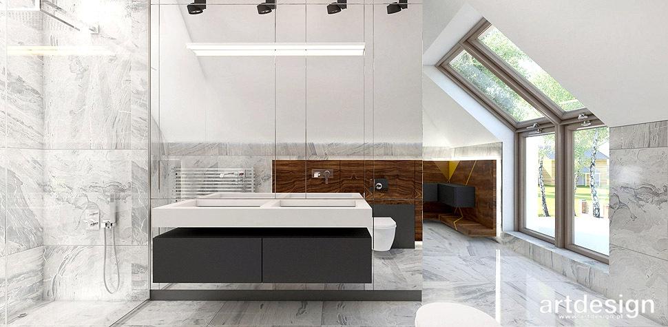 łazienka w nowoczesnym stylu projekty