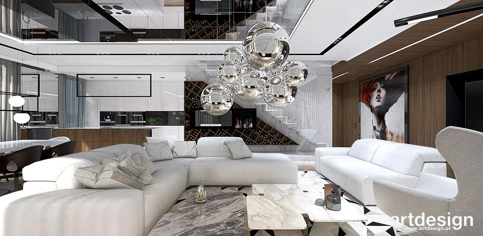 nowoczesne wnętrze domu