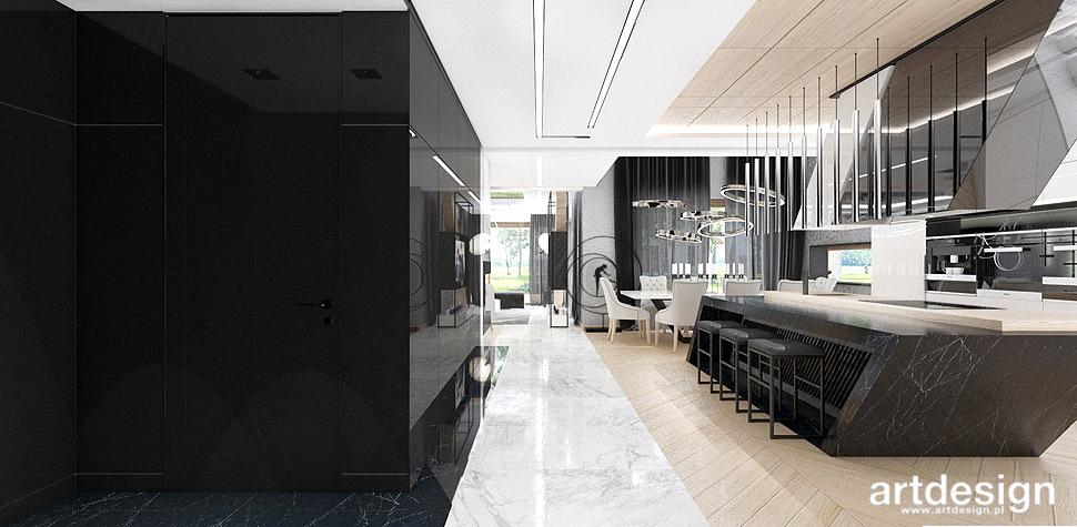nowoczesny dom architekt wnętrz