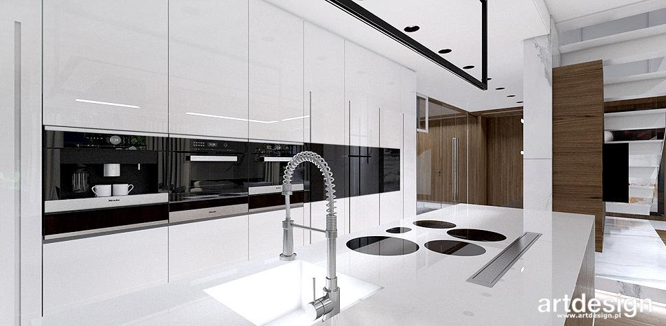 nowoczesne kuchnie projekty