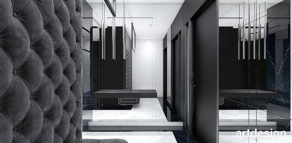 wnętrza domu nowoczesny design