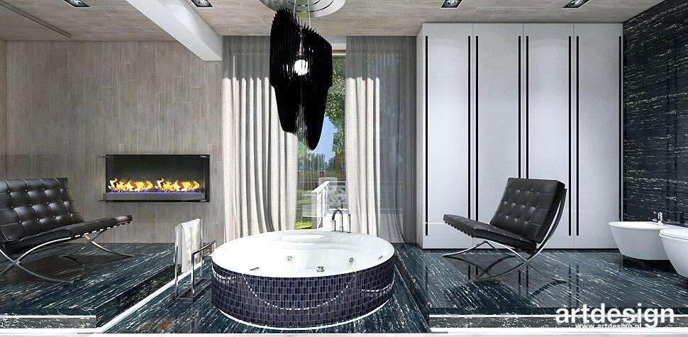 luksusowe wnętrza domowe spa