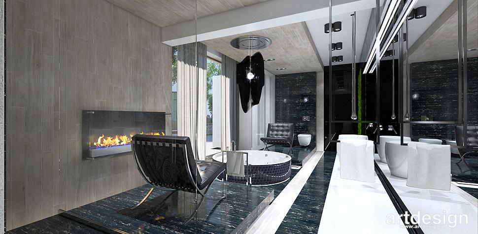 projekt wnętrz salon kąpielowy