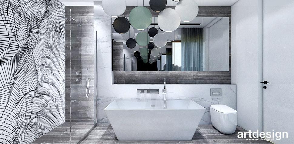inspirujące projekty wnętrz łazienka