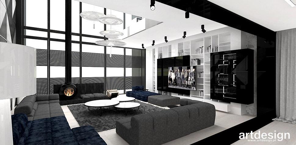 architekt wnętrz projekt salonu
