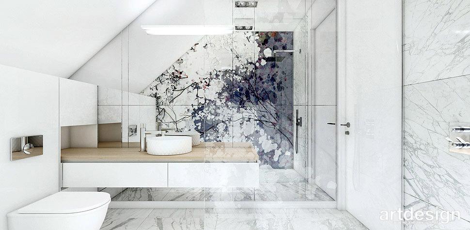 wnętrza domu łazienka
