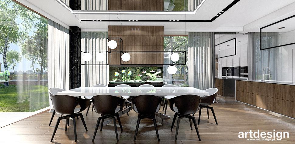 nowoczesny dom jadalnia