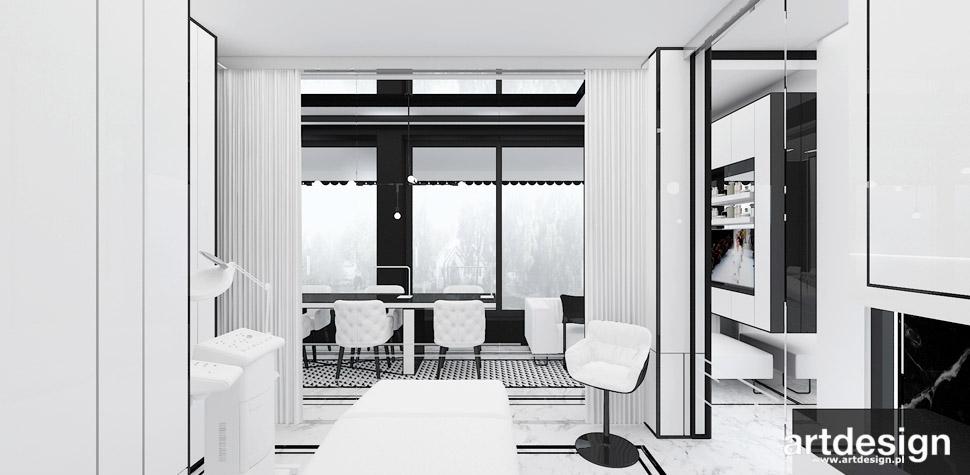 eleganckie wnętrza projekty