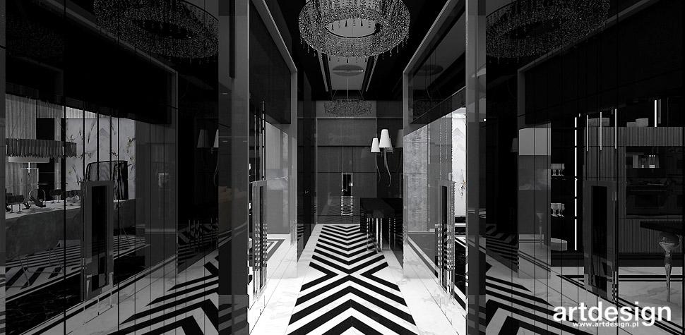 eleganckie wnętrza design
