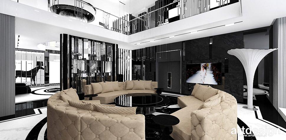 luksusowe projekty wnętrz