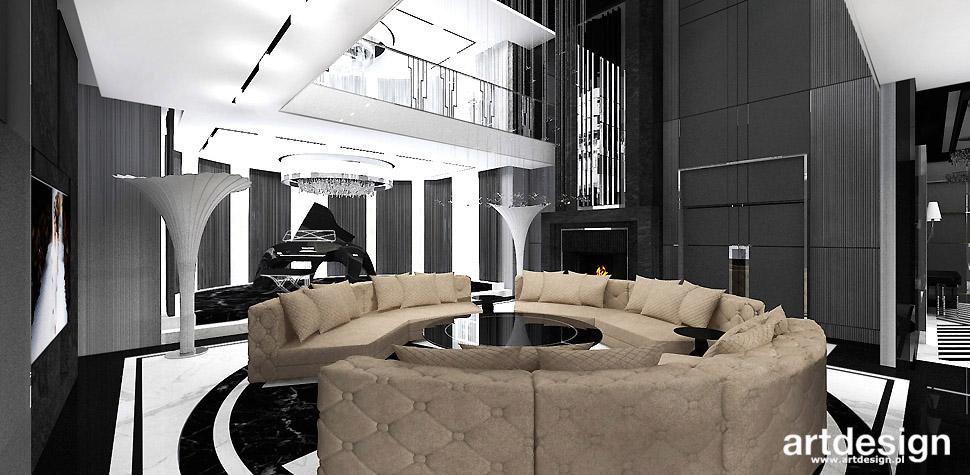 projekty salonu inspiracje