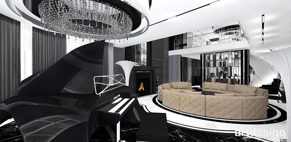 wnętrza luksusowy design