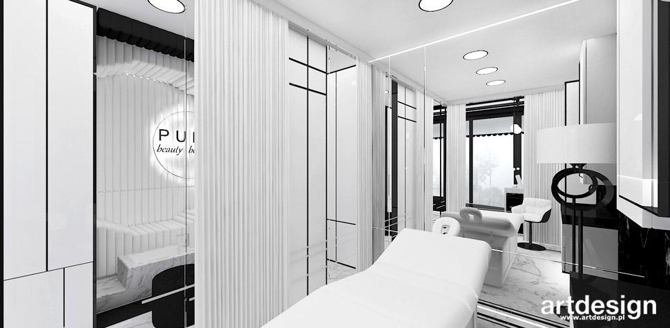 salon kosmetyczny projektowanie
