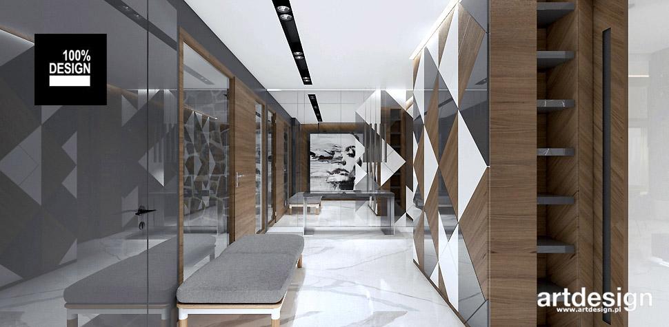 wnętrza domów w stylu nowoczesnym