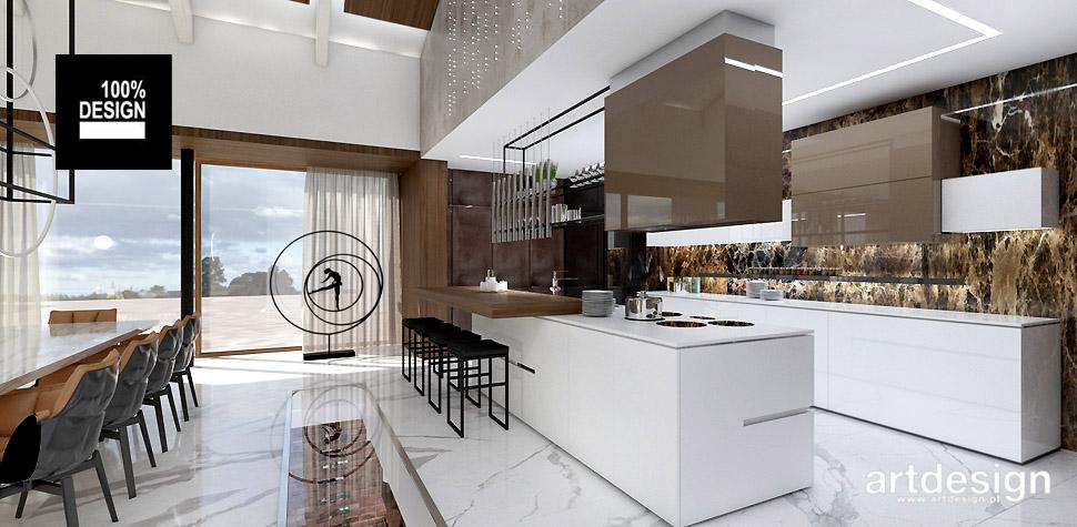 kuchnia nowoczesna projekt wnętrz