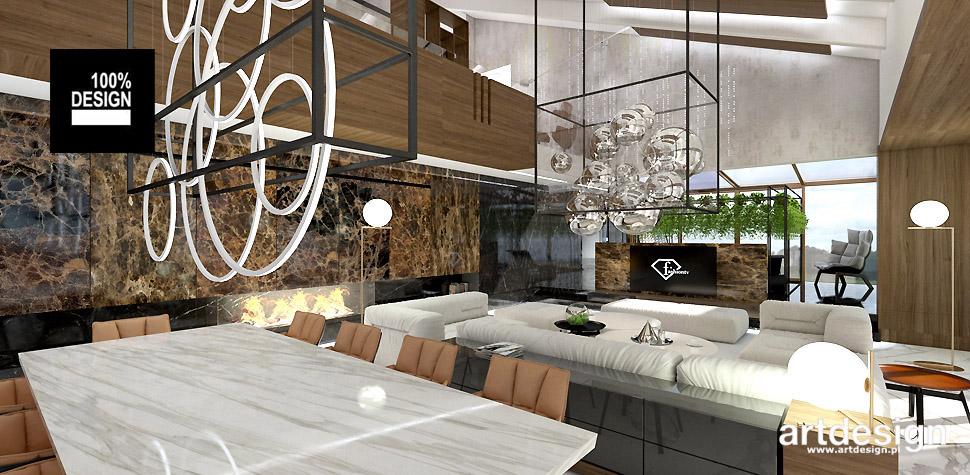 salon nowoczesne wnętrza
