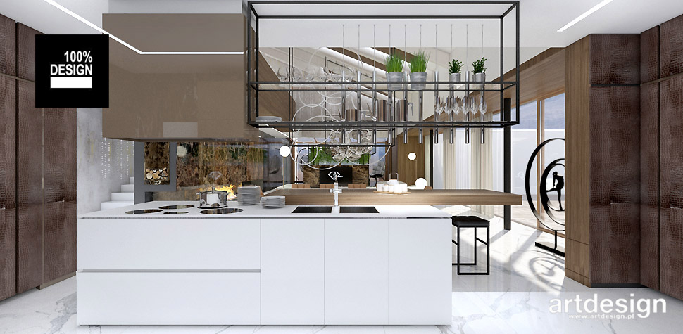 projekty wnętrz domów wnętrza