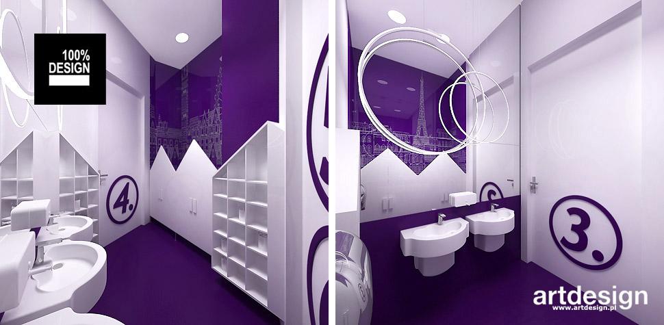 aranżacje wnętrz łazienek dla dzieci