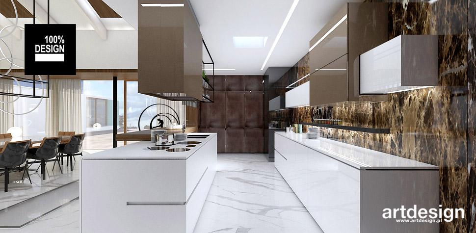 luksusowe wnętrza domów projekty