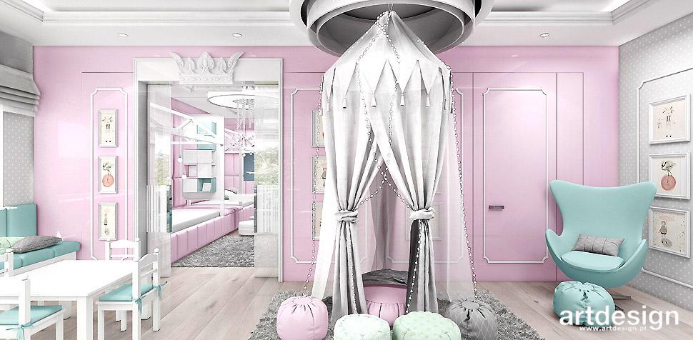 pokój dla dziewczynki aranżacja wnętrza