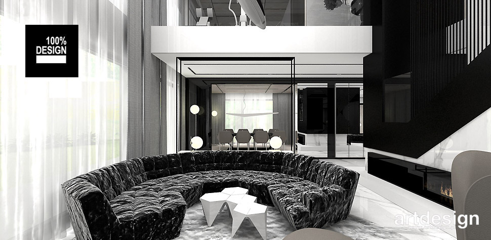 luksusowy dom aranżacja wnętrz