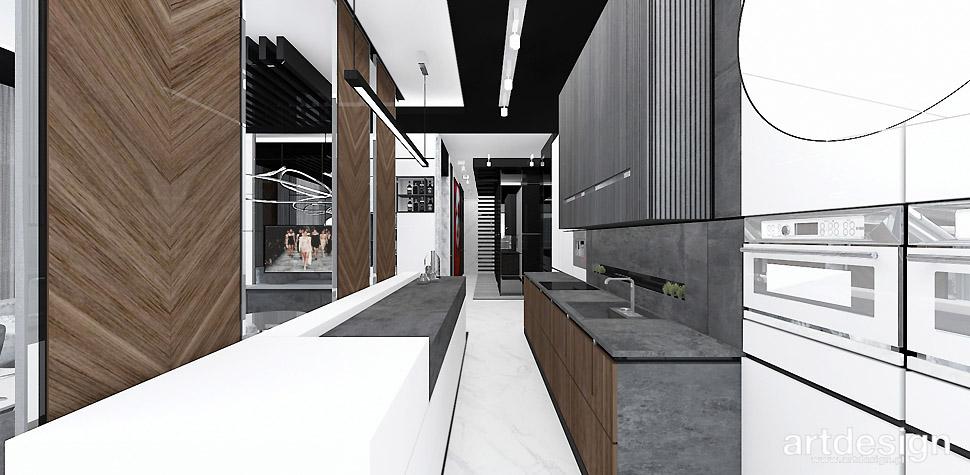 projekt kuchni wizualizacje