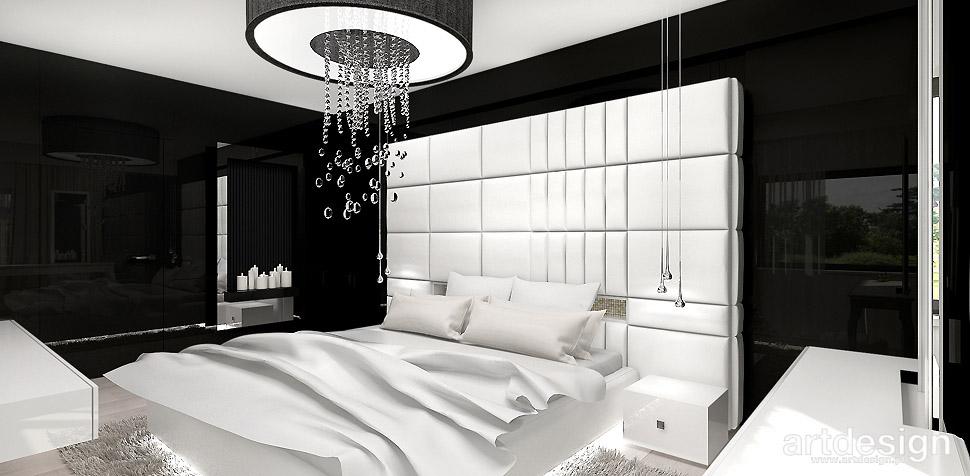 sypialnia wnętrza aranżacje