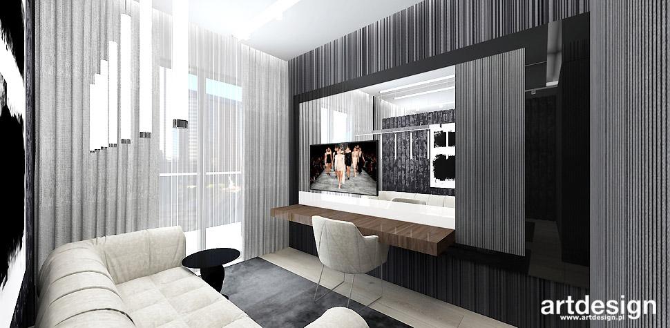 projektowanie wnętrz biuro domowe
