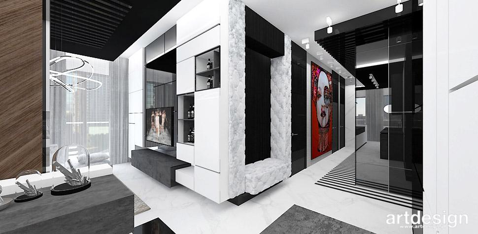 nowoczesne mieszkanie projekt wnętrz