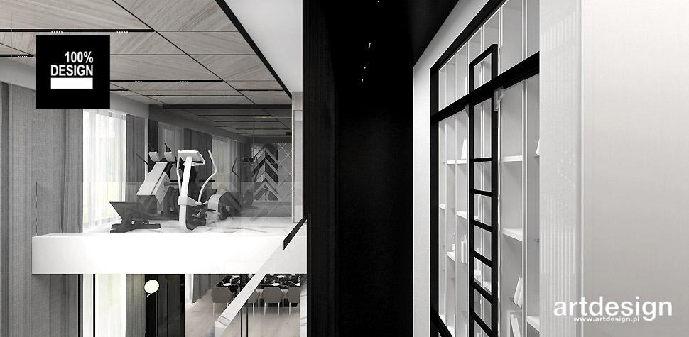 projekty wnętrz domów Kraków