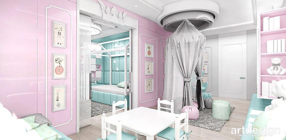 pokoje dziecięce projekty wnętrz