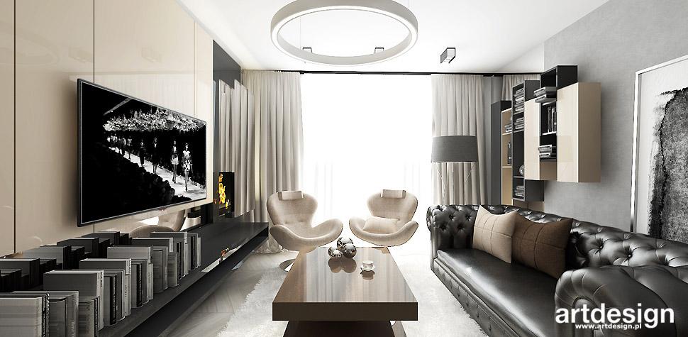 nowoczesne mieszkanie projekty wnetrz