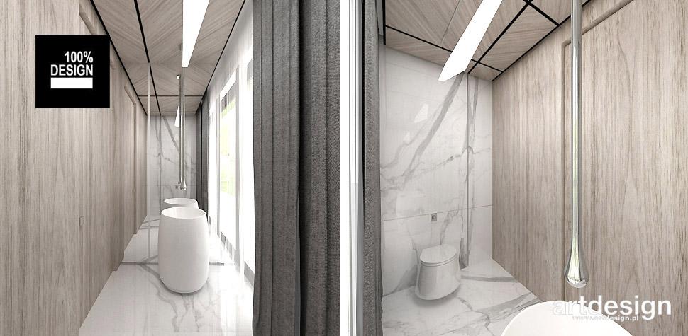 projekt toalety wnętrze