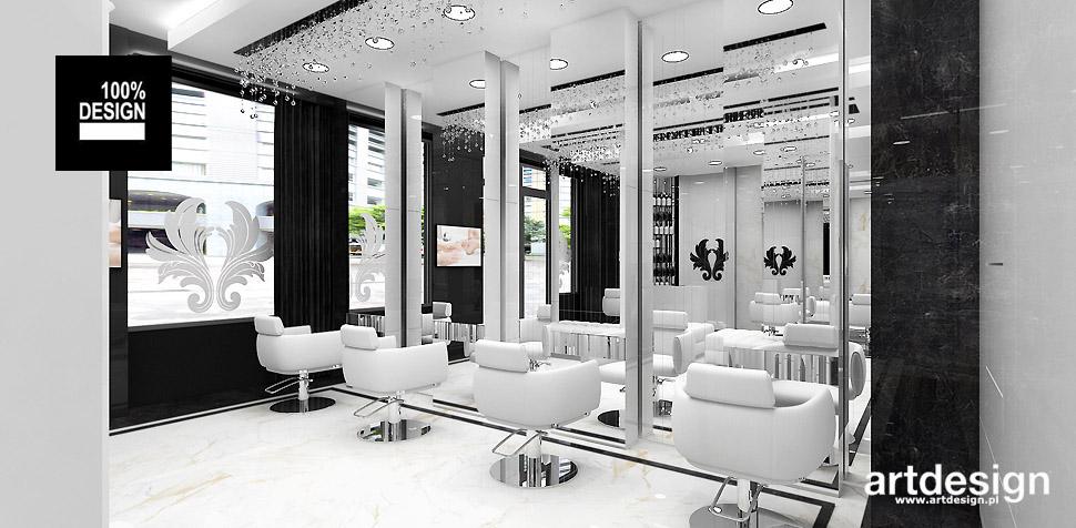 salon kosmetyczny projekty wnętrz