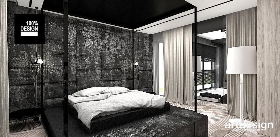 projekty wnętrz sypialni