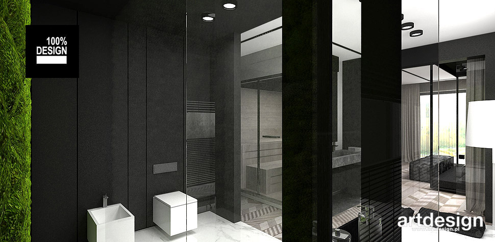 nowoczesne projekty wnętrz domów
