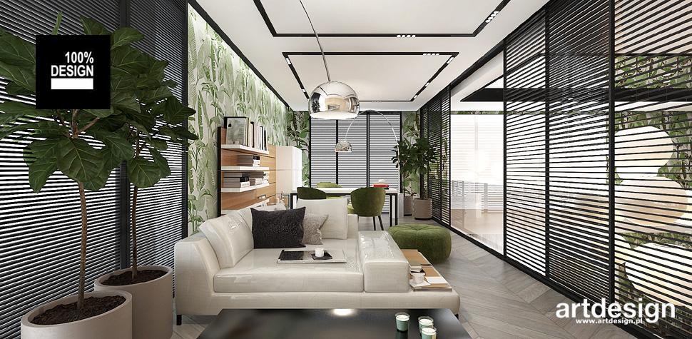 nowoczesny gabinet wnętrze