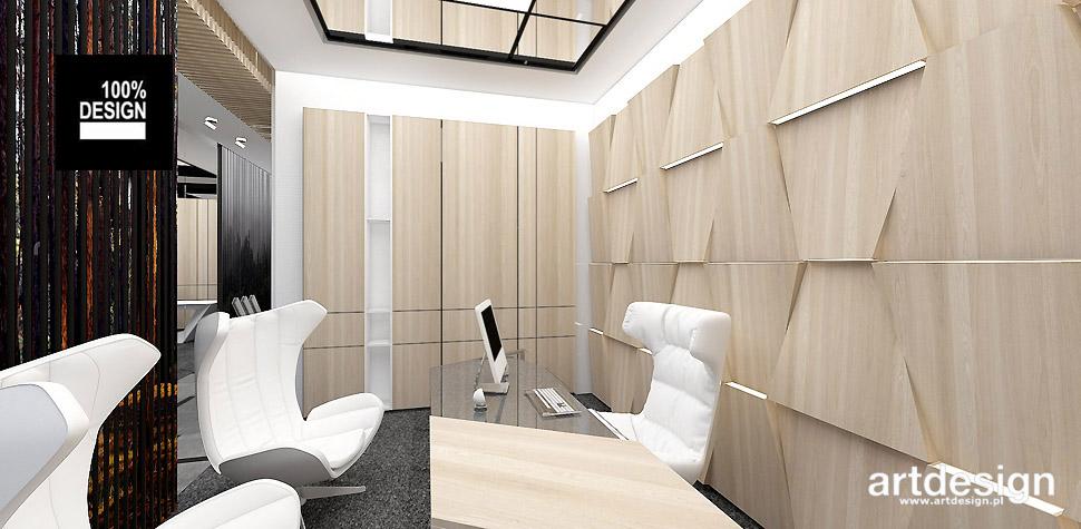 nowoczesny gabinet biuro
