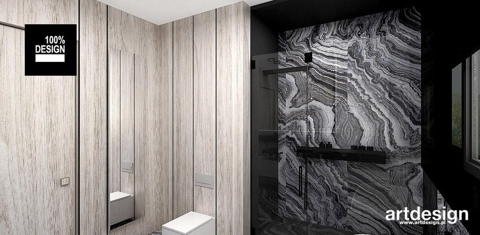 łazienka nowoczesna wnętrze