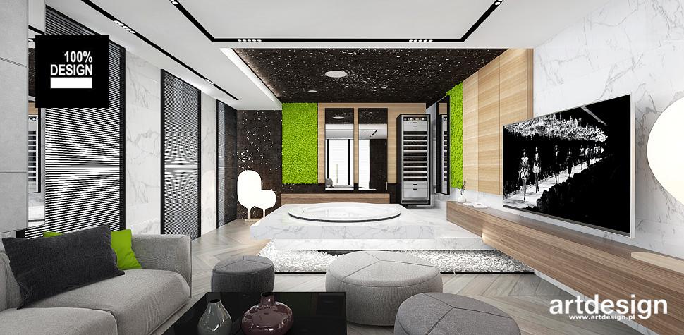 nowoczesny design dom wnętrza