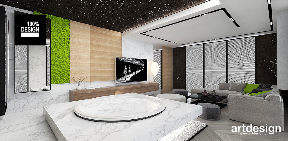 nowoczesny dom wnętrza inspiracje